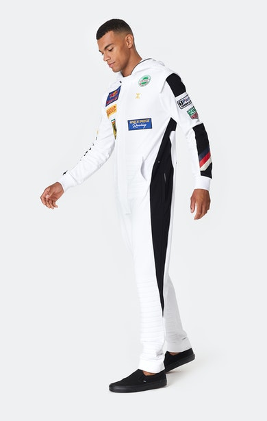 Onepiece The Racing Jumpsuit Weiß