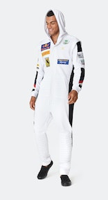 Onepiece The Racing Jumpsuit White