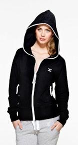 Onepiece Girl Ripper Zipper Black Hoodie