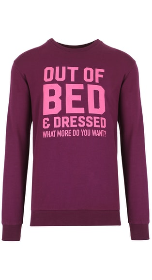 Onepiece Go Sweater Burgundy