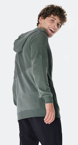 Onepiece Go Zip Hoodie Army