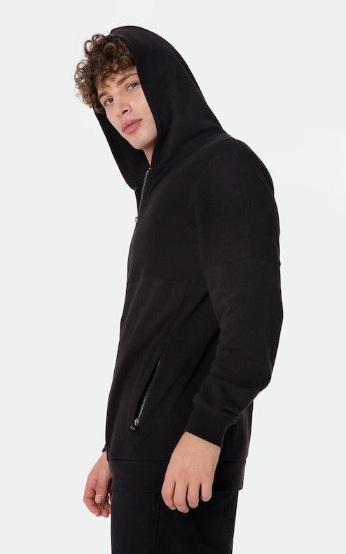 Onepiece Go Zip Hoodie Black