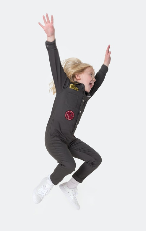 Onepiece Goals Kids Jumpsuit Army