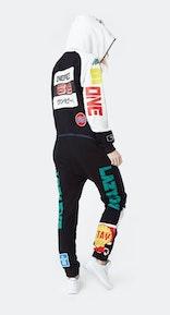 Onepiece Grand Prix Jumpsuit Black