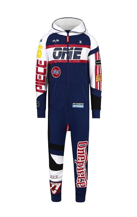 Onepiece Grand Prix Jumpsuit Bleu foncé