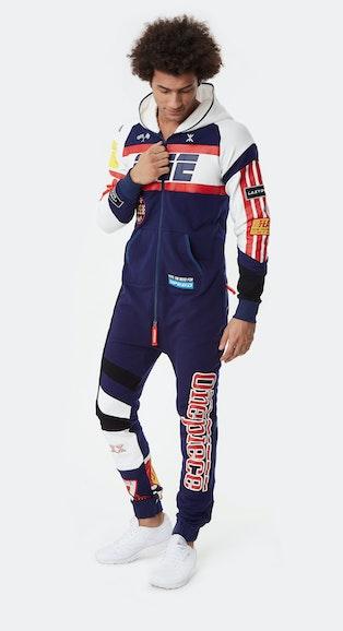 Onepiece Grand Prix Jumpsuit Dunkelblau