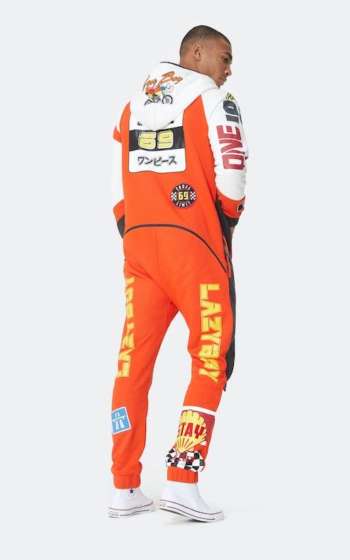 Onepiece Grand Prix Jumpsuit Orange