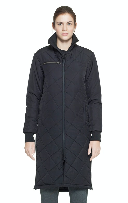 Onepiece Grip Long Jacket Black