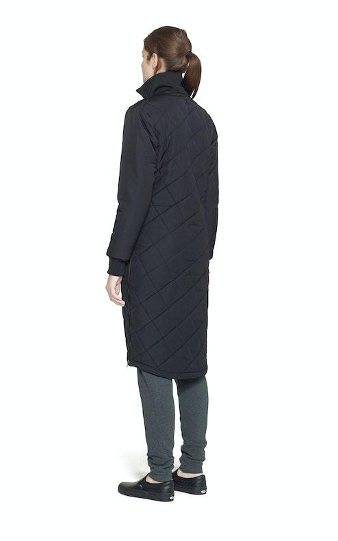 Onepiece Grip Long Jacket Black