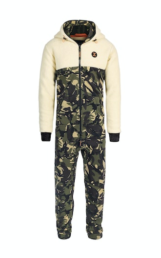 Onepiece Happy Camper Jumpsuit Camouflage
