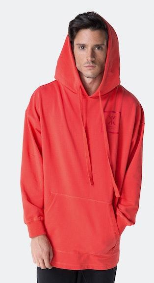 Onepiece Heat Hoodie Bright Red