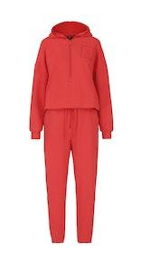 Onepiece Heat Jumpsuit Bright Red