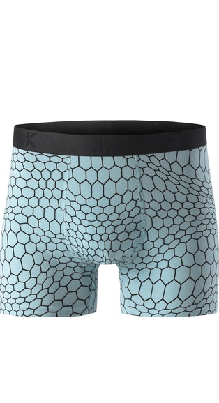 Onepiece Hectagon Boxer Sterling Blue