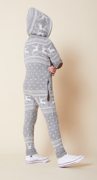 Onepiece Holidays Are Coming Kids jumpsuit Grey