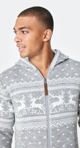 Onepiece Holidays Are Coming Onesie Grey
