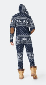 Onepiece Holidays Are Coming Onesie Marineblau