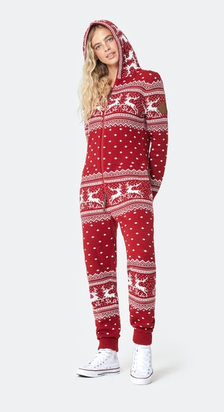 Onepiece Holidays Are Coming Onesie Red