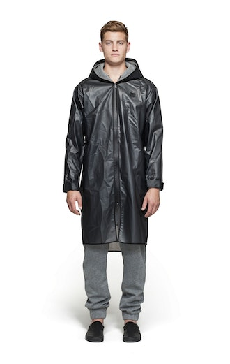 Onepiece Influence Rain Jacket Transparent schwarz