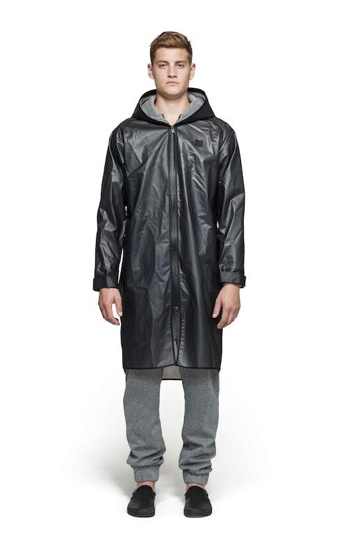 Onepiece Influence Rain Jacket Transparent black