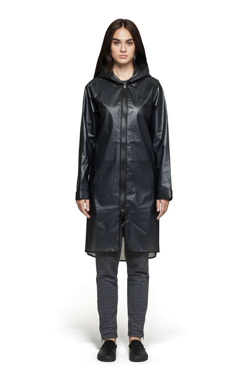 Onepiece Influence Rain Jacket Transparent black