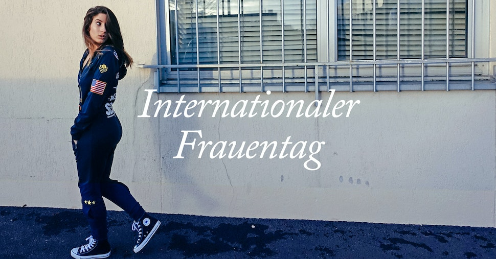 Internationaler Frauentag Onepiece Marina the Moss Holy Camille Eunice Olumide Jumpsuit Onesie