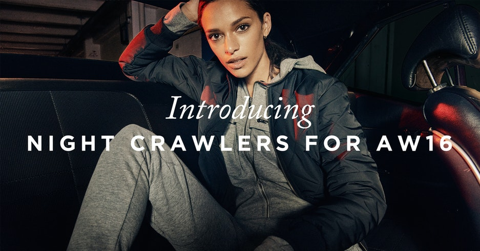New Onepiece collection for AW16 Night Crawlers