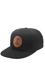 Onepiece IX Cap 黑(皮革布料、有補丁)