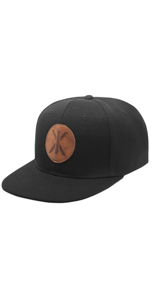 Onepiece IX Cap Black leather patch