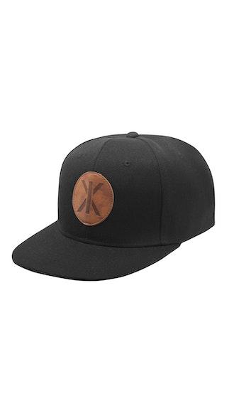 Onepiece IX Cap Black leather patch