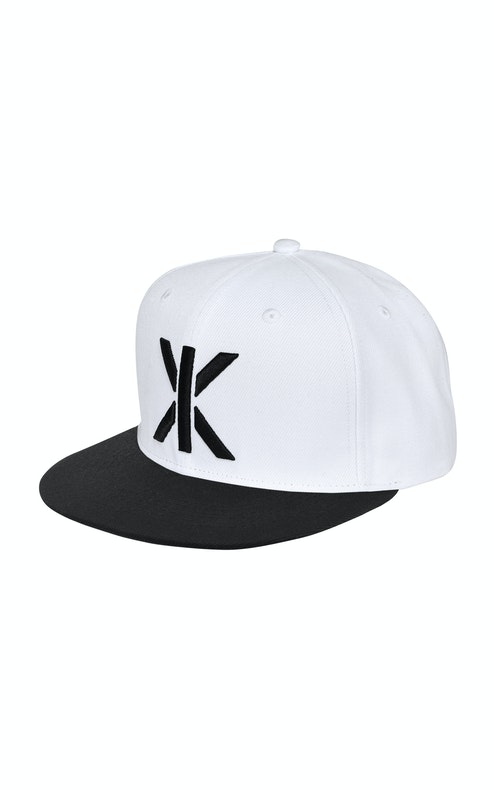 Onepiece Logo Cap Snapback White