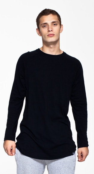 Onepiece Kalle Long Sleeve Black