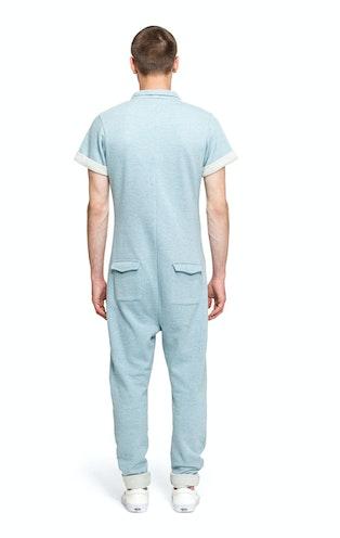 Onepiece Keep Jumpsuit Grey/Blue Melange