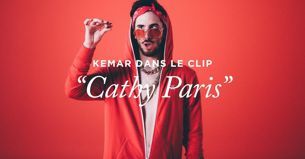 """Kemar en Onepiece dans le clip """"Cathy Paris"""" de Natoo"""