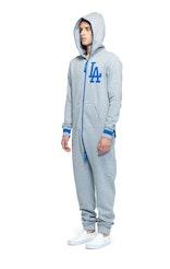 Onepiece LA Dodgers Jumpsuit Grey Melange