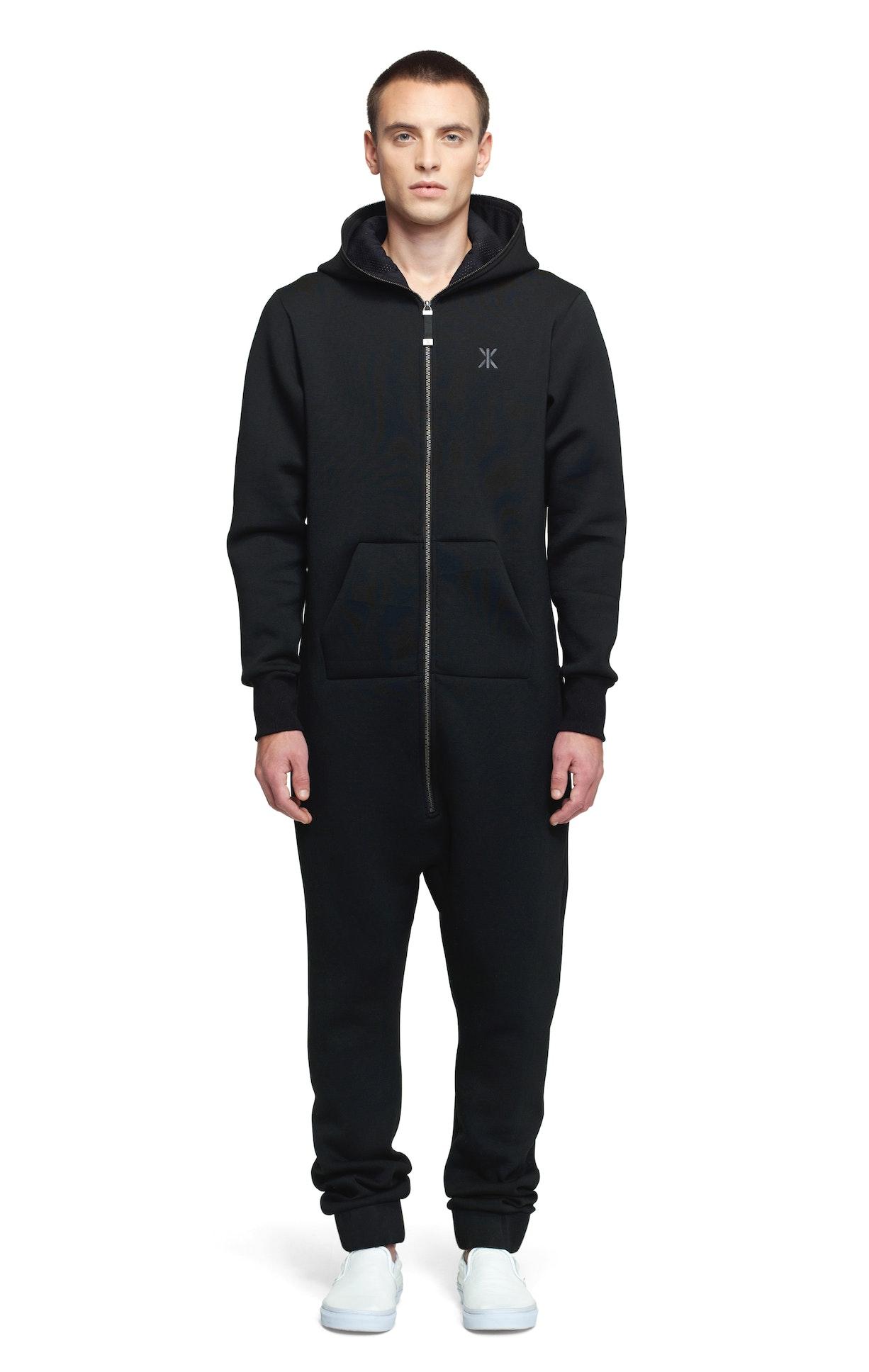 last jumpsuit noir combinaison onesie onepiece fr. Black Bedroom Furniture Sets. Home Design Ideas