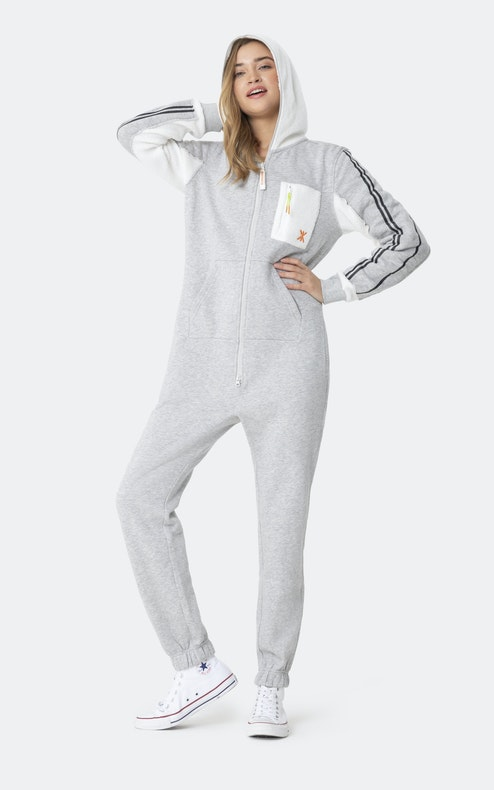 Onepiece Laundry Day Jumpsuit Grey melange