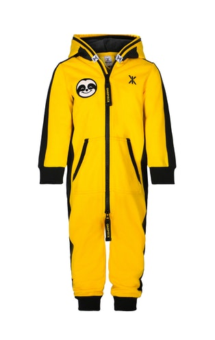Onepiece Lazy Baby Jumpsuit Yellow