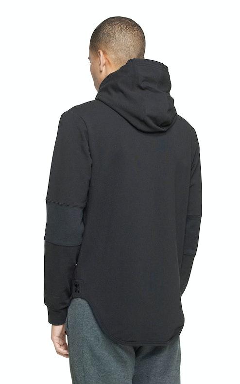 Onepiece Leap Zip Hoodie Black