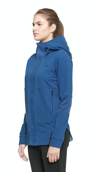 Onepiece Leap Zip Hoodie Stain blue melange