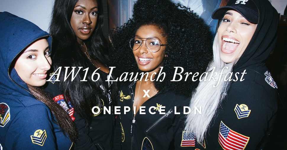 Onepiece celebrates the launch of their new AW16 collection with an exclusive breakfast at Shoreditch House.