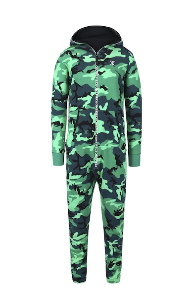 Onepiece Anti-Camo Jumpsuit Jungle Green