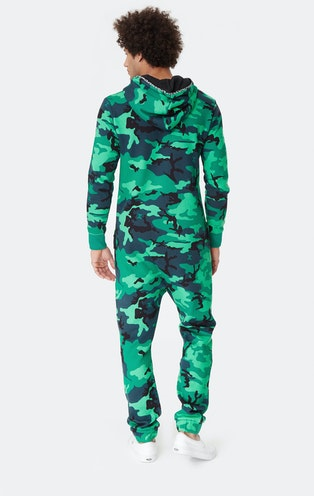 Onepiece Anti-Camo Jumpsuit Jungle Green