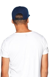 Onepiece Logo Cap Snapback Navy