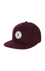 Onepiece Logo Reflective Cap Wine Red Mix