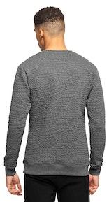 Onepiece London College Sweater Dark Grey Melange