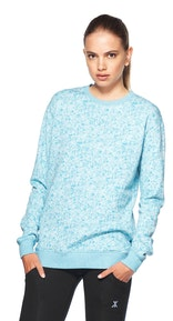 Onepiece London College Sweater Hellblau