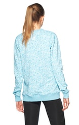 Onepiece London College Sweater Light Blue Printed