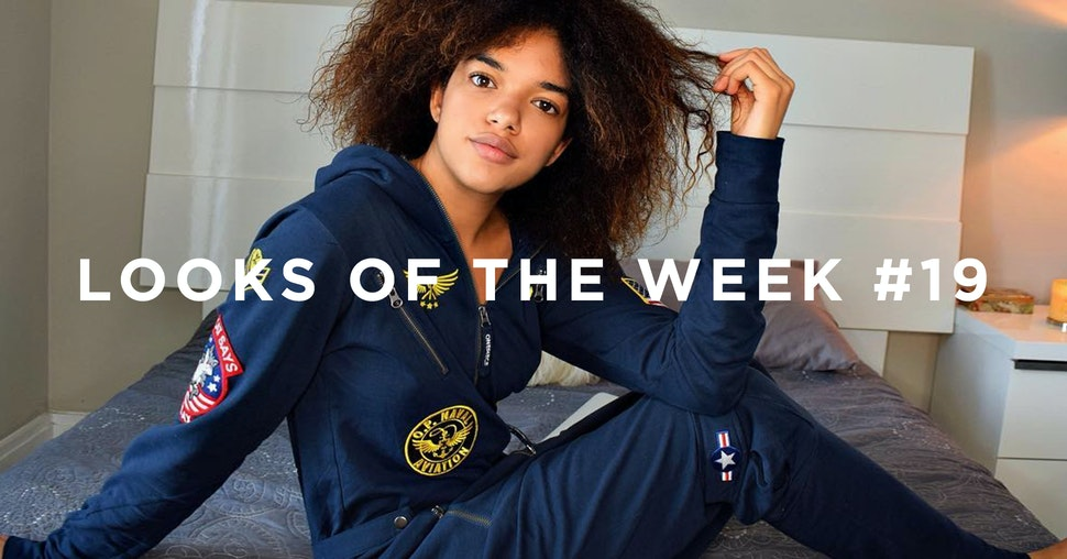 Looks of the Week Onepiece Jumpsuits Onesies