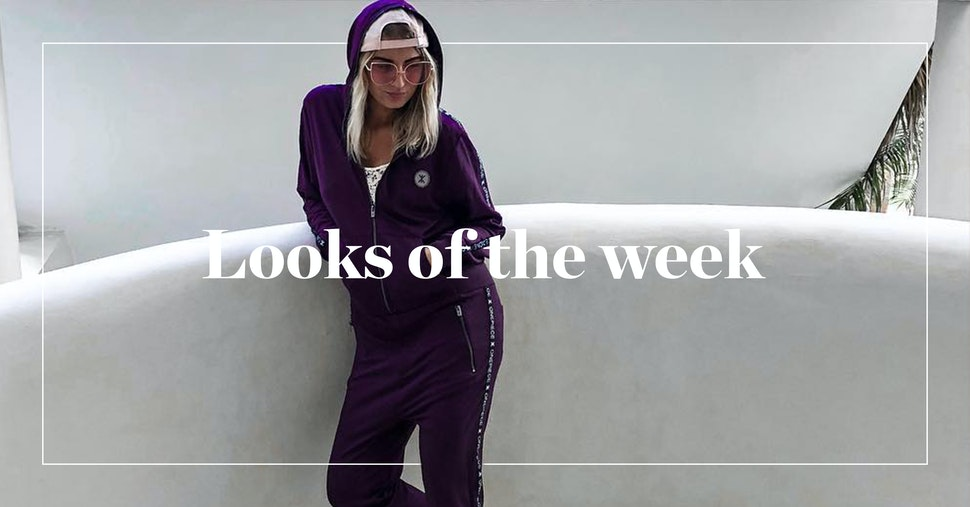 Looks of the week Sprinter Jumpsuit Cardigan T-Shirt Onepiece Onesie