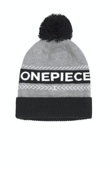 Onepiece Loop Beanie Grey Mel
